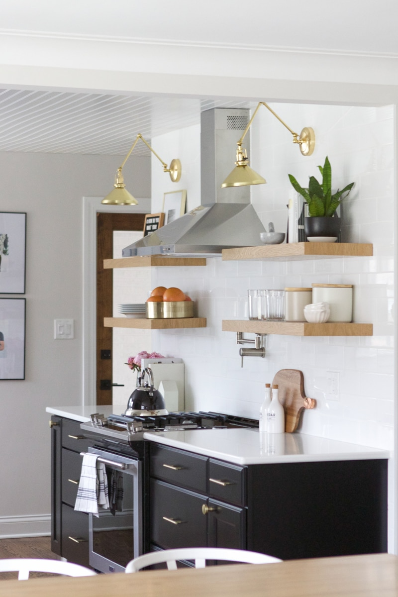 How to Style Open Shelves in the Kitchen | The DIY Playbook