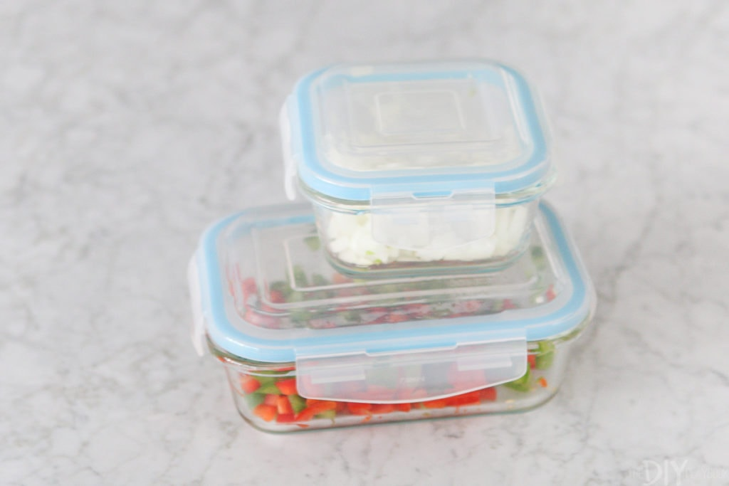 Glass tupperware containers