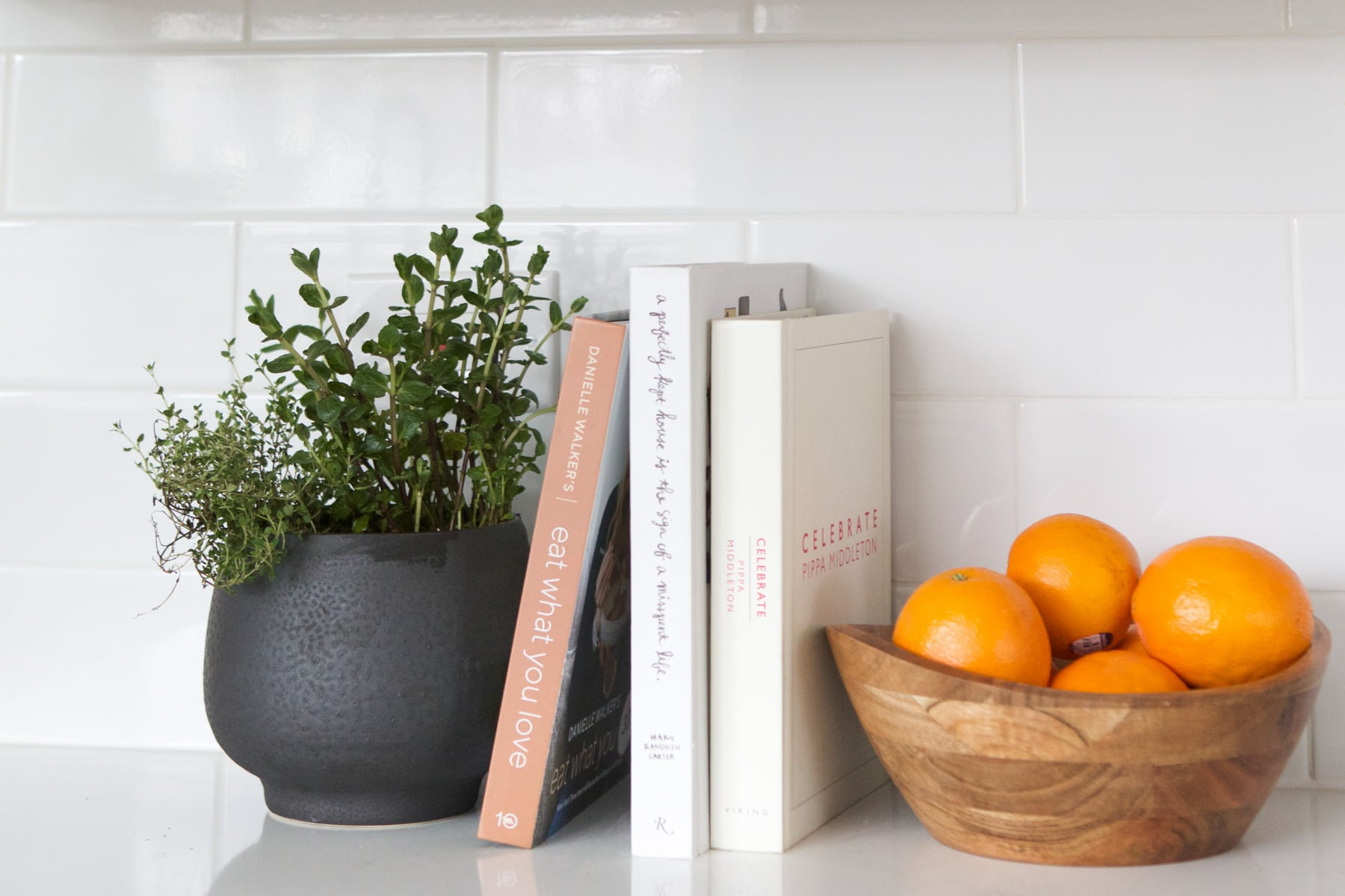 pot with plants
