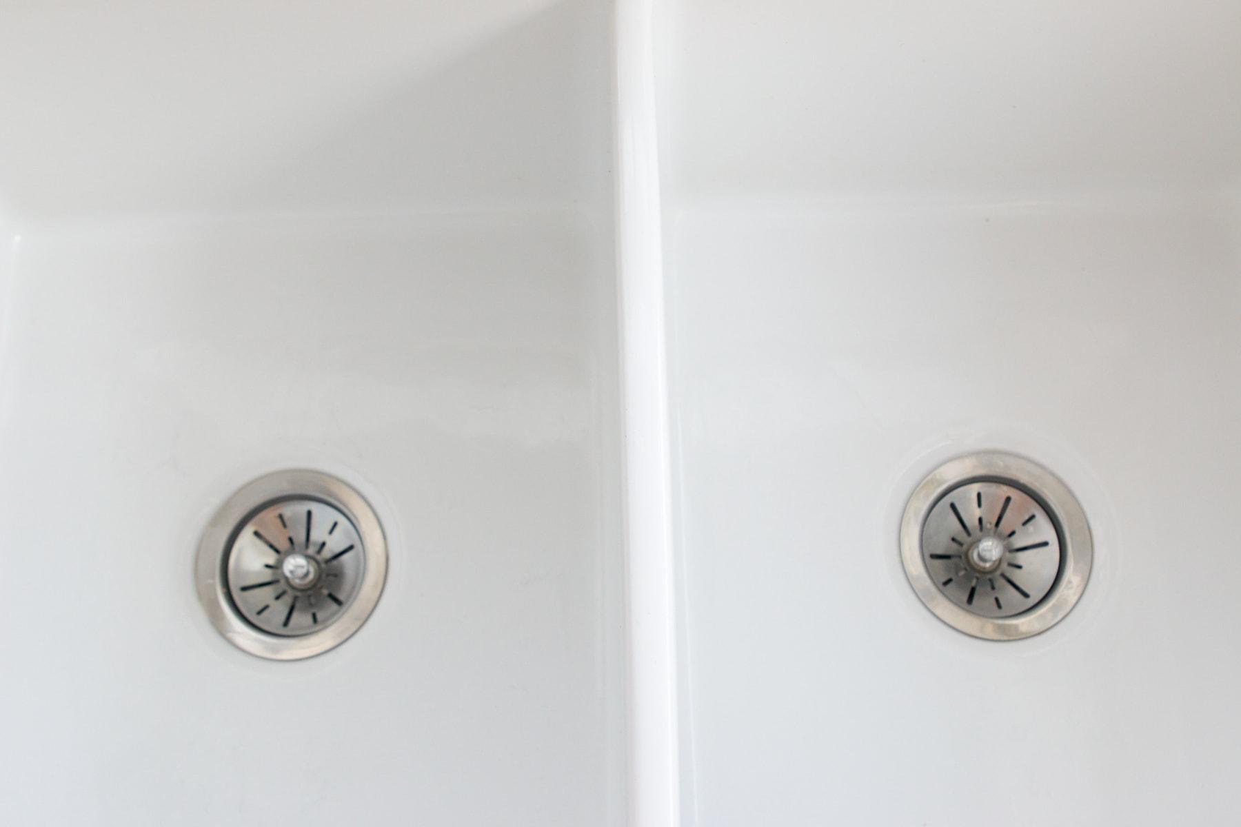 double basin farmhouse sink
