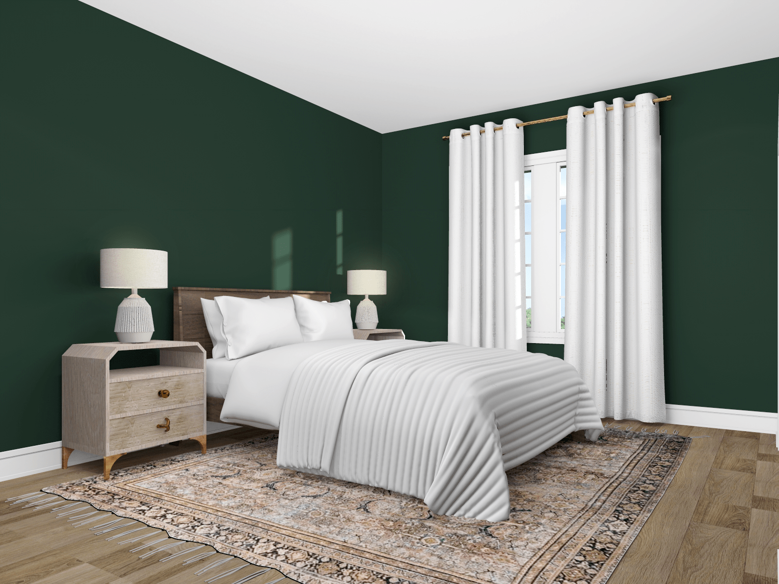 guest room rendering
