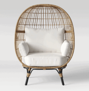 egg chair from Target
