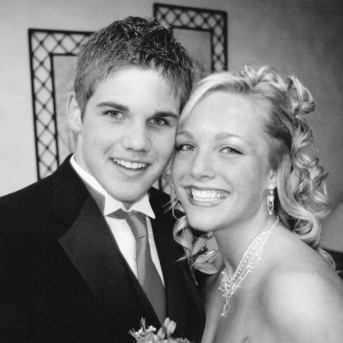 Casey and Finn prom 2004