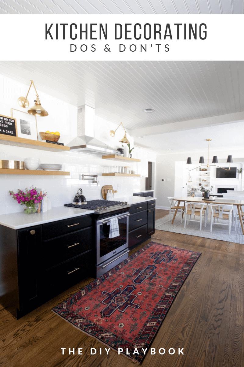 Brilliant Kitchen Decorating 101 Dos Donts The Diy Playbook Machost Co Dining Chair Design Ideas Machostcouk