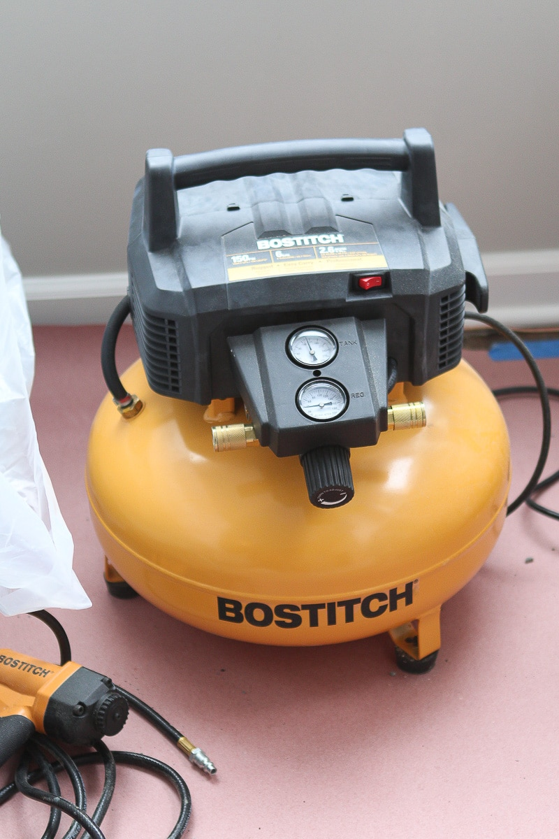 Power tools 101: buy an air compressor and nail gun
