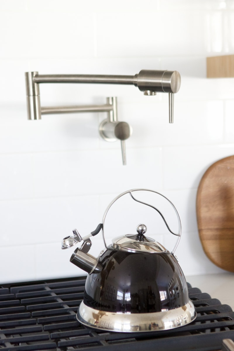 tea pot and pot filler
