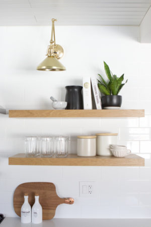 Black And White Kitchen Reveal