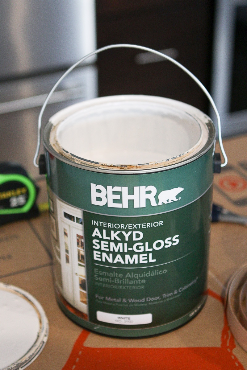 semi-gloss trim paint