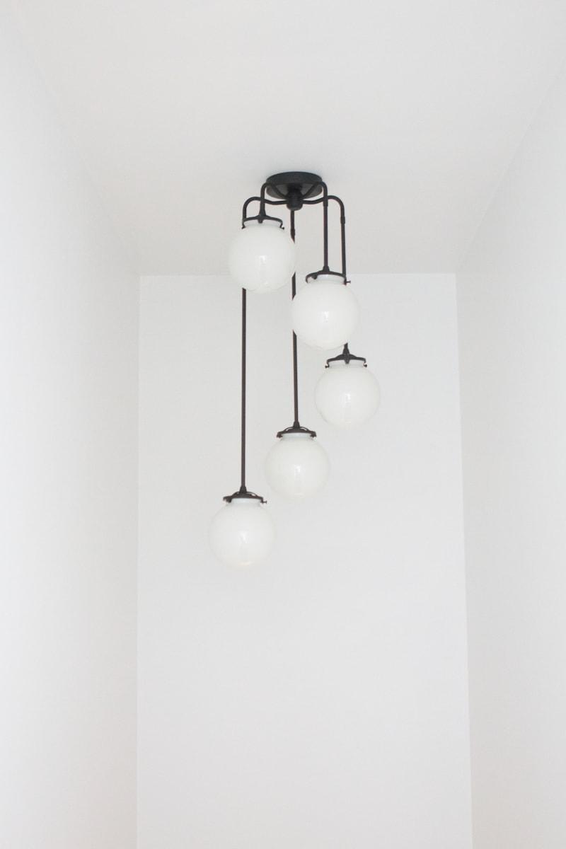 etsy stairwell light fixture