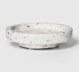 terrazzo tray from target
