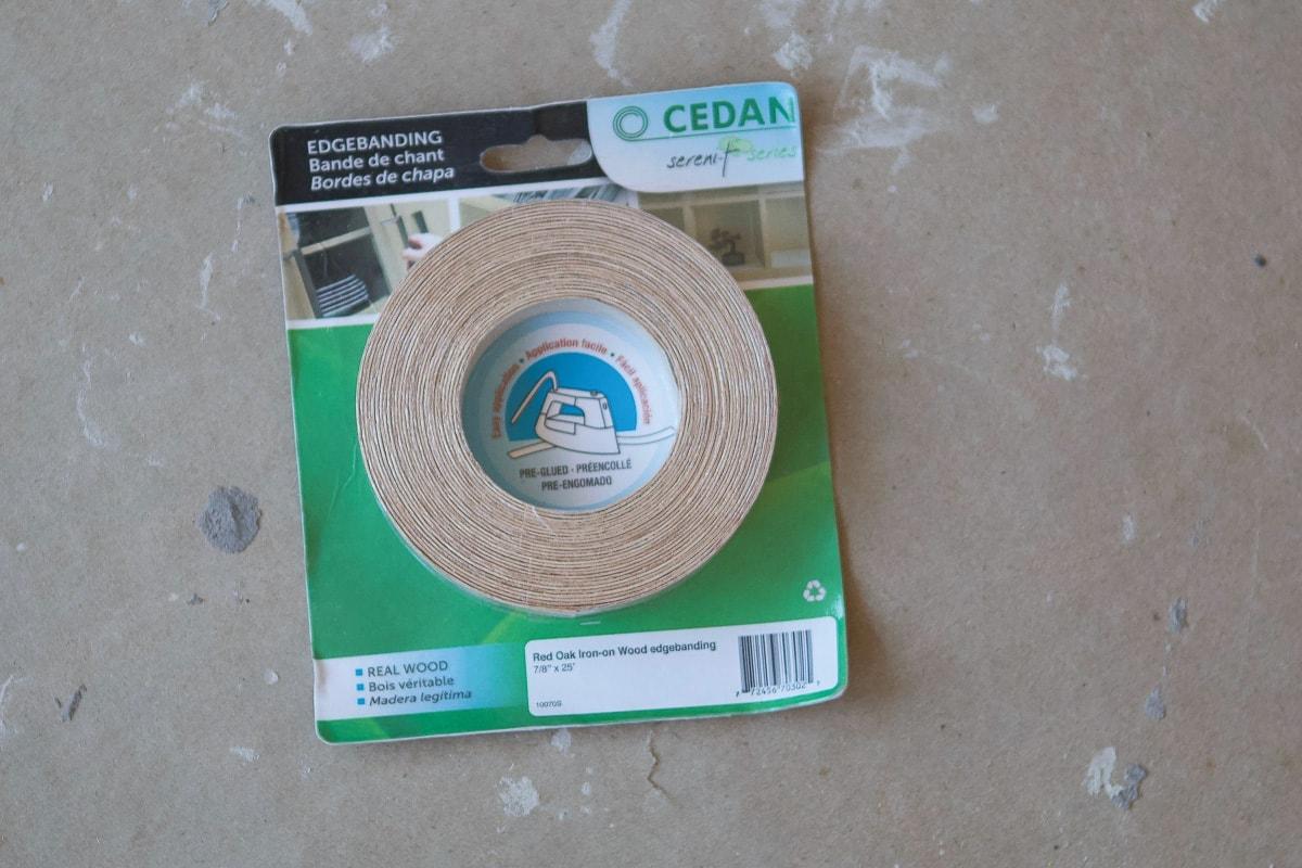 Wood edging