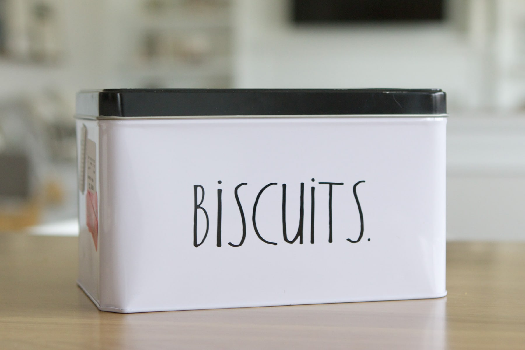Biscuits tin from HomeGoods