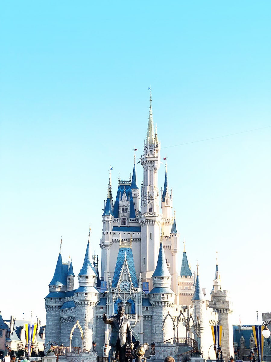 magic kingdom castle and travel tips