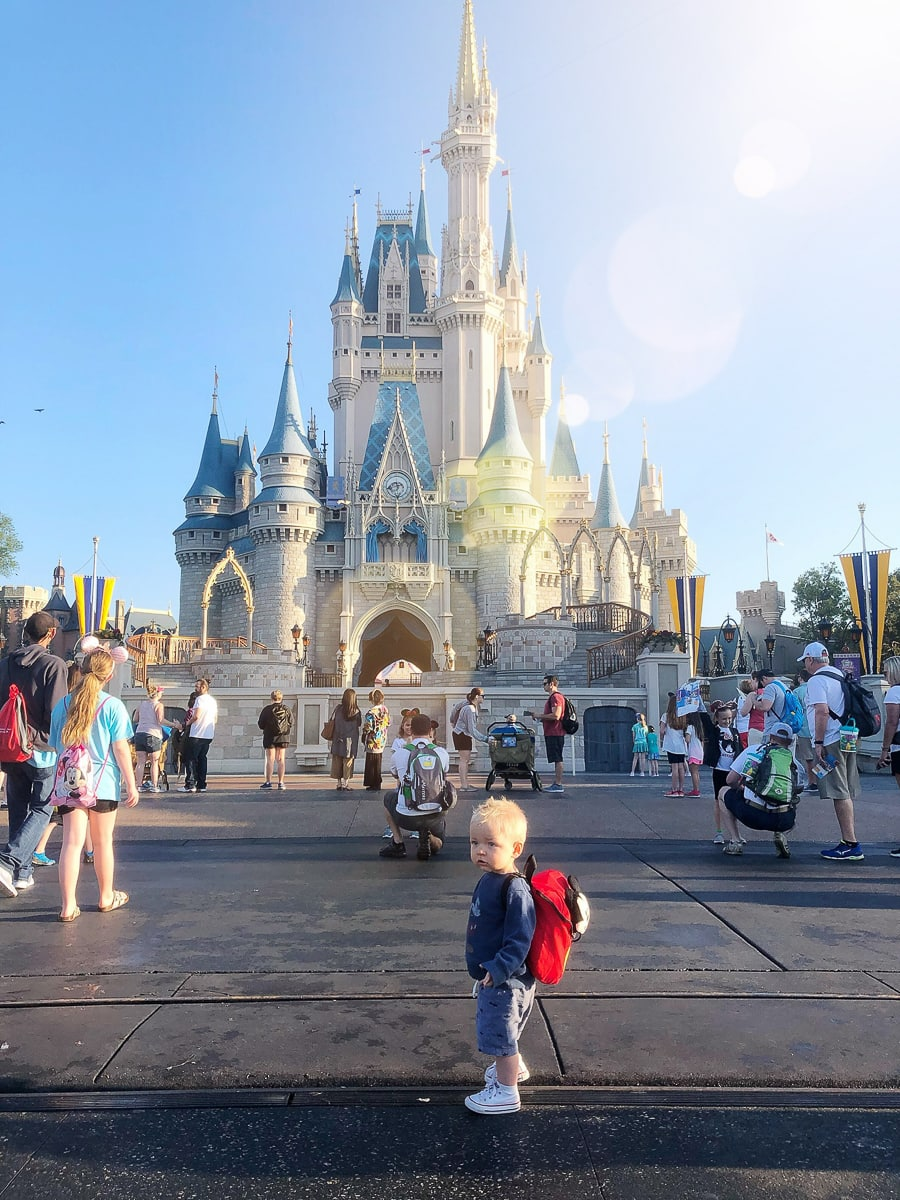 Taking a 1-year-old to Disney's Magic Kingdom