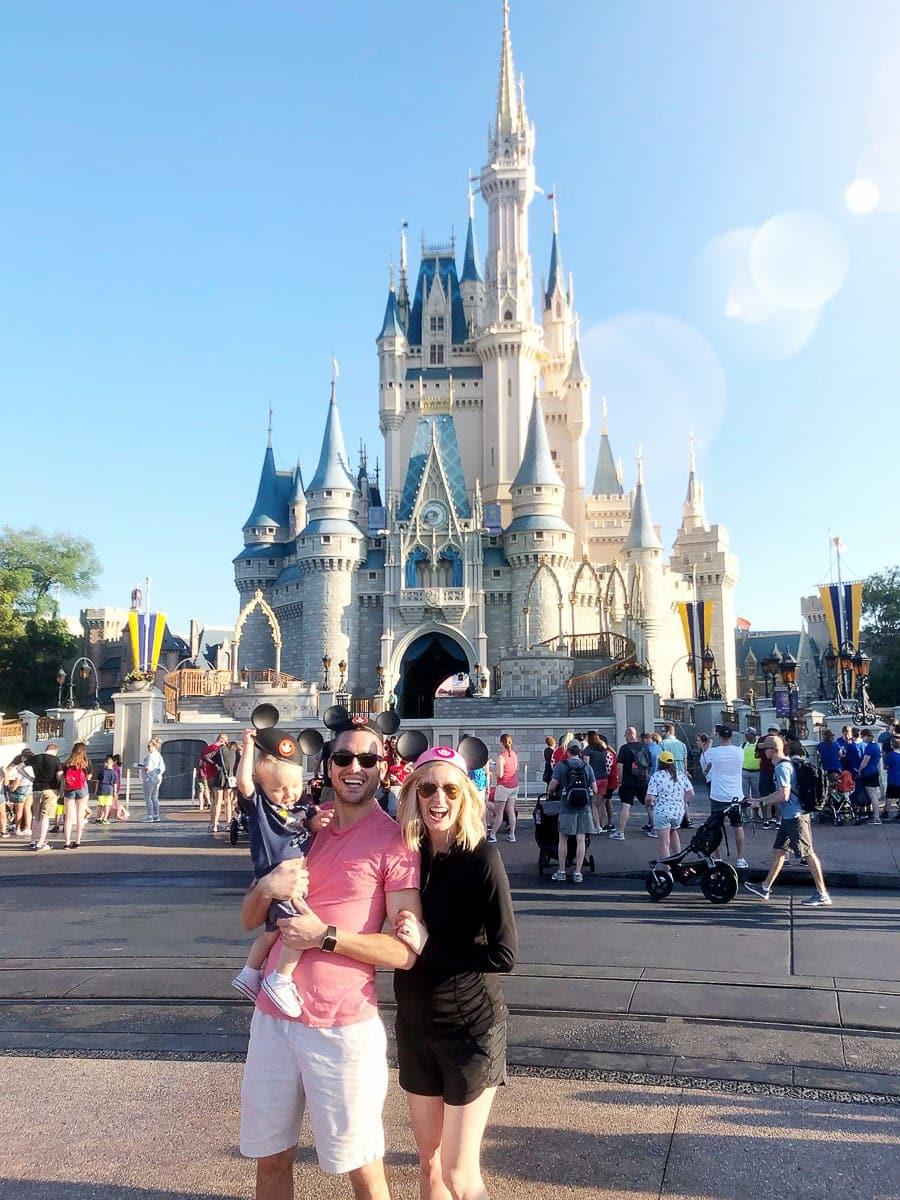 Family trip to Disney's Magic Kingdom