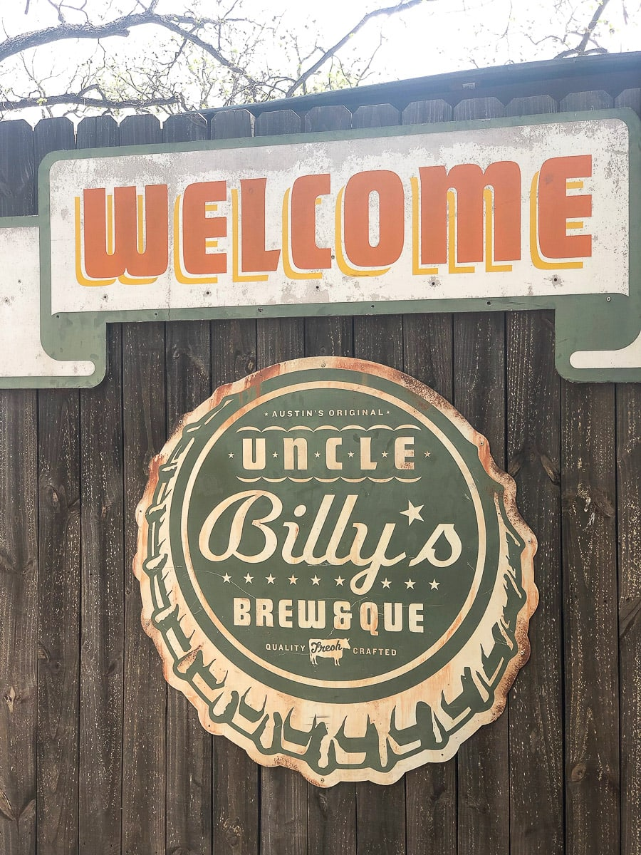 Uncle Billy's bbq in Austin