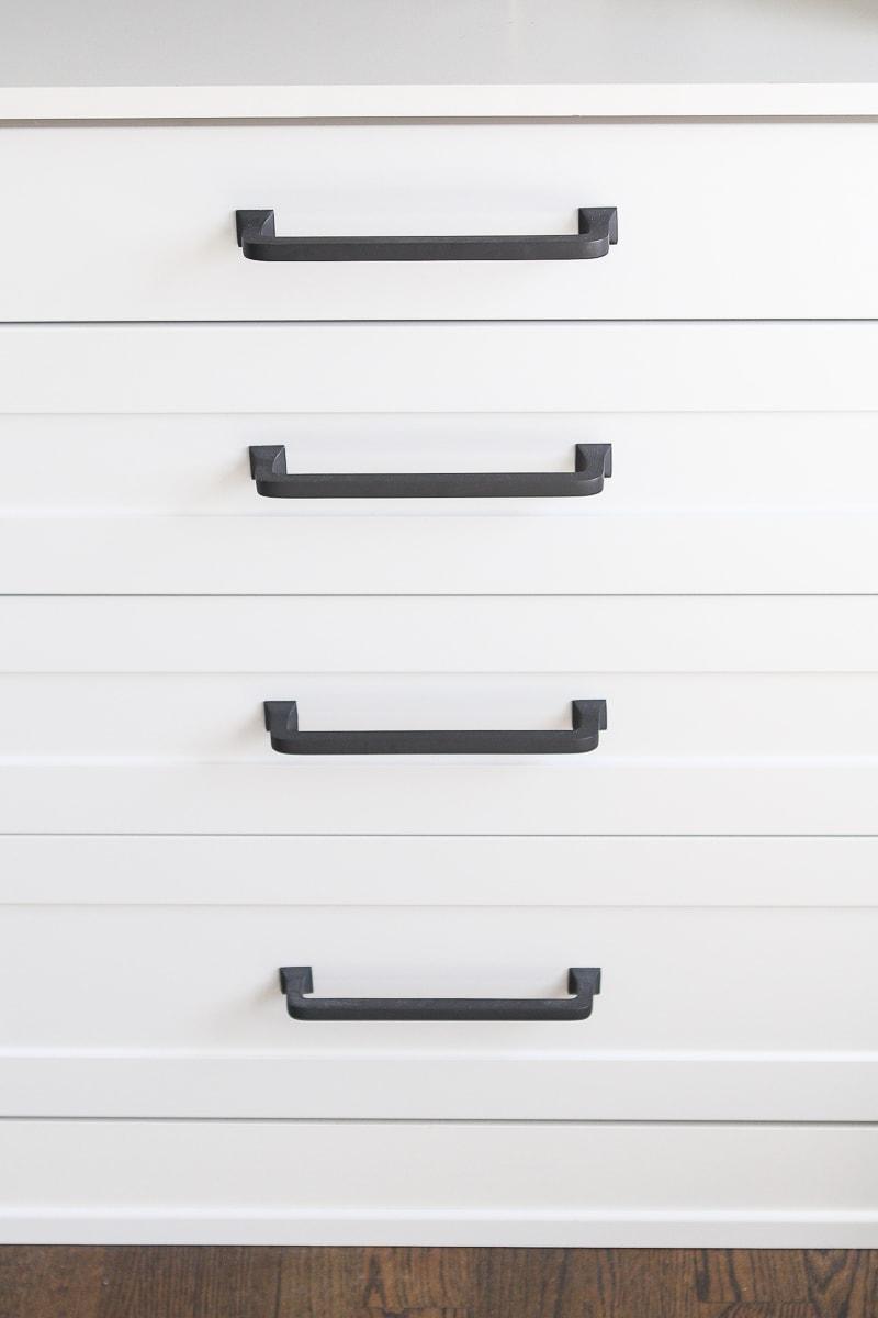 Rejuvenation pulls on a dresser
