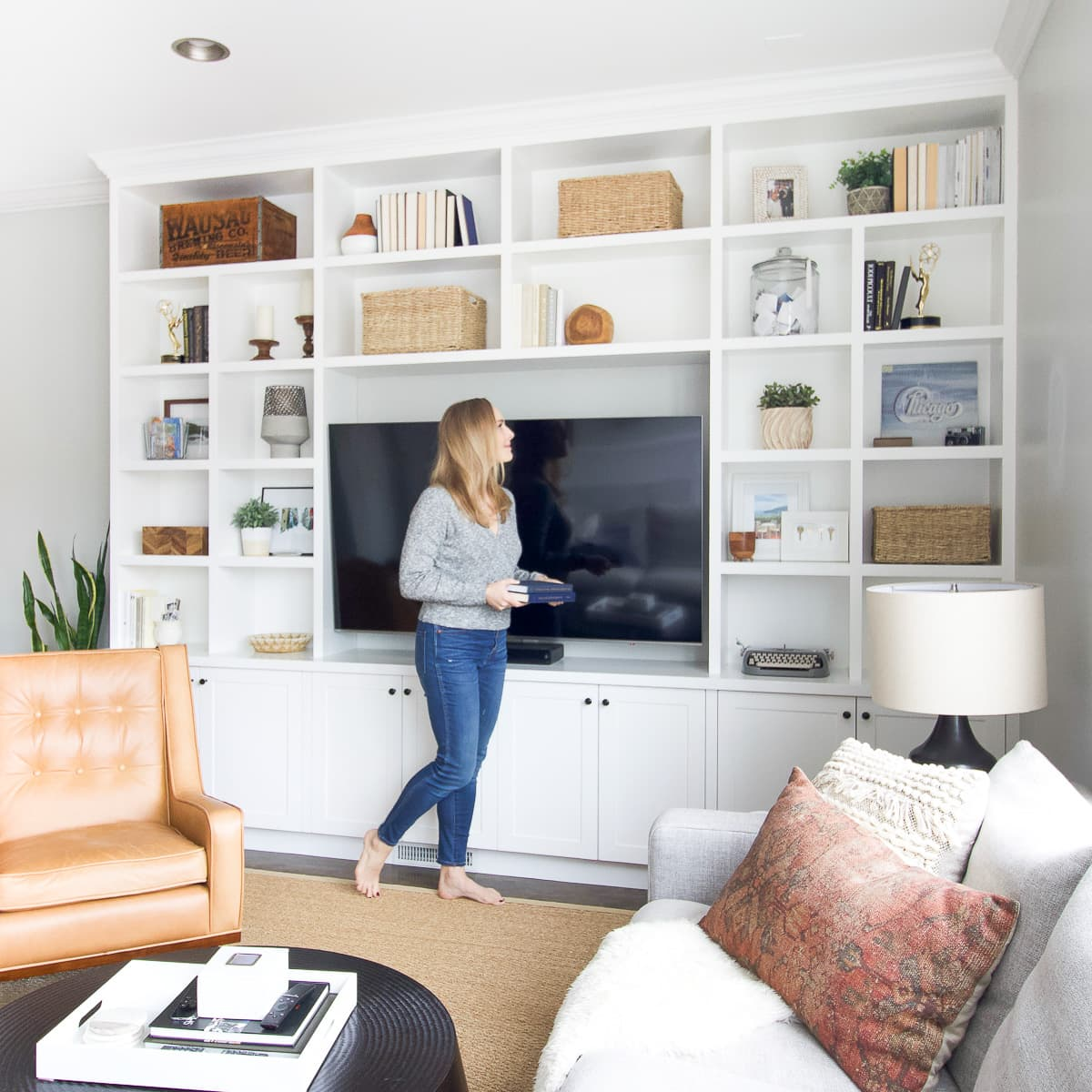 Adding books to built-ins