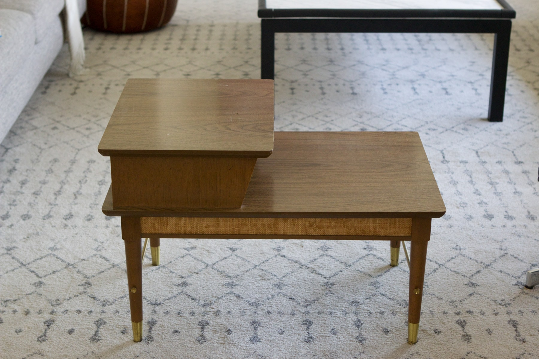 Finding a MCM side table on Facebook marketplace