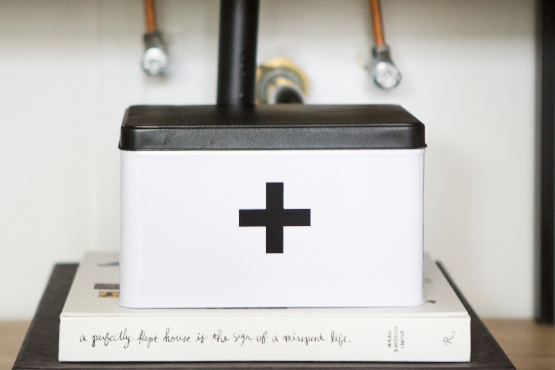 A DIY first aid box
