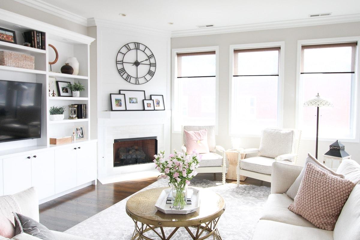 Jan's living room space