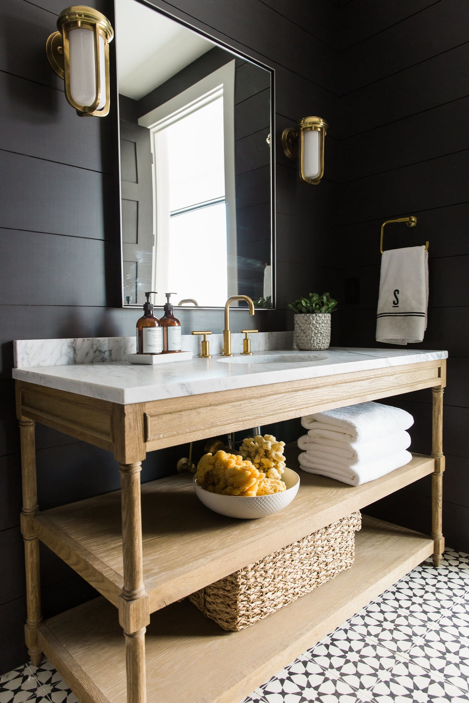 Wood Bathroom Vanity from Studio McGee