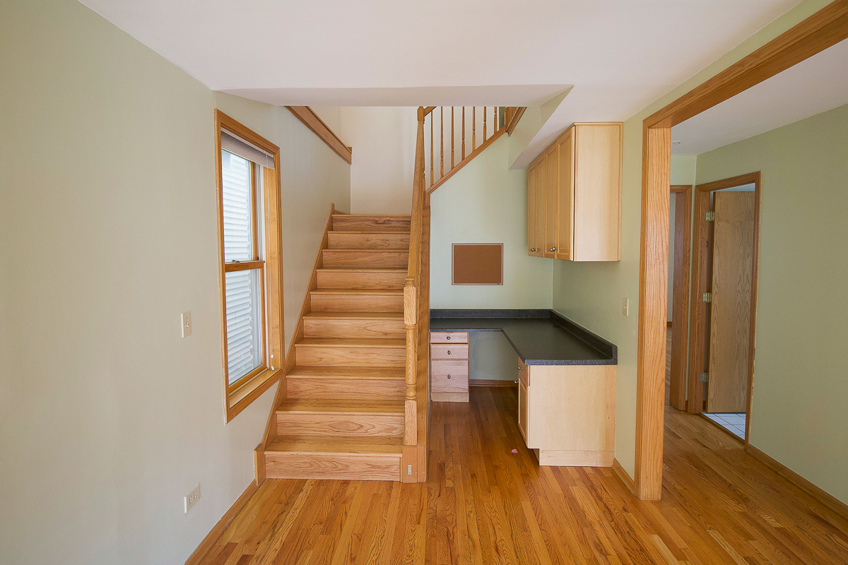 Stairwell transformation before