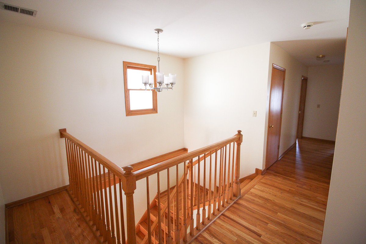 Stairwell before transformation