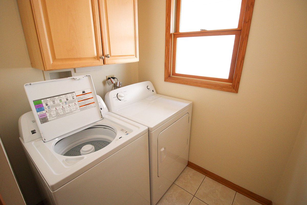 Kenneth laundry room before