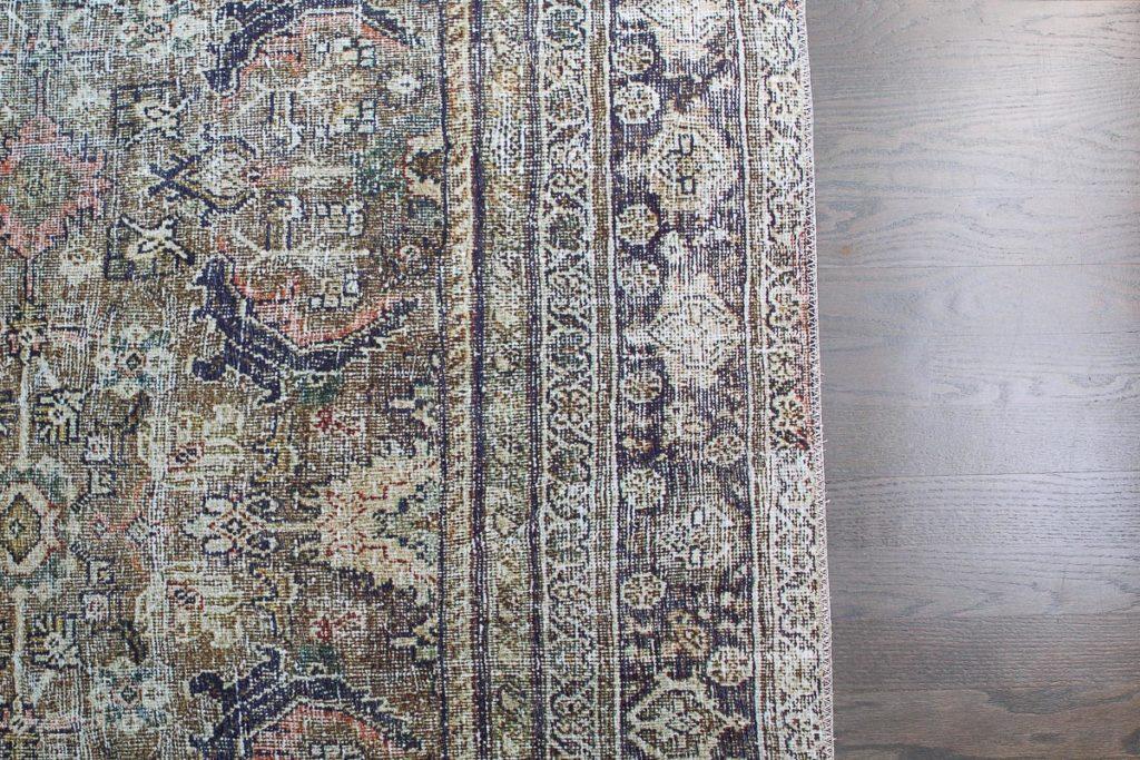Oriental rug pattern from lo loi