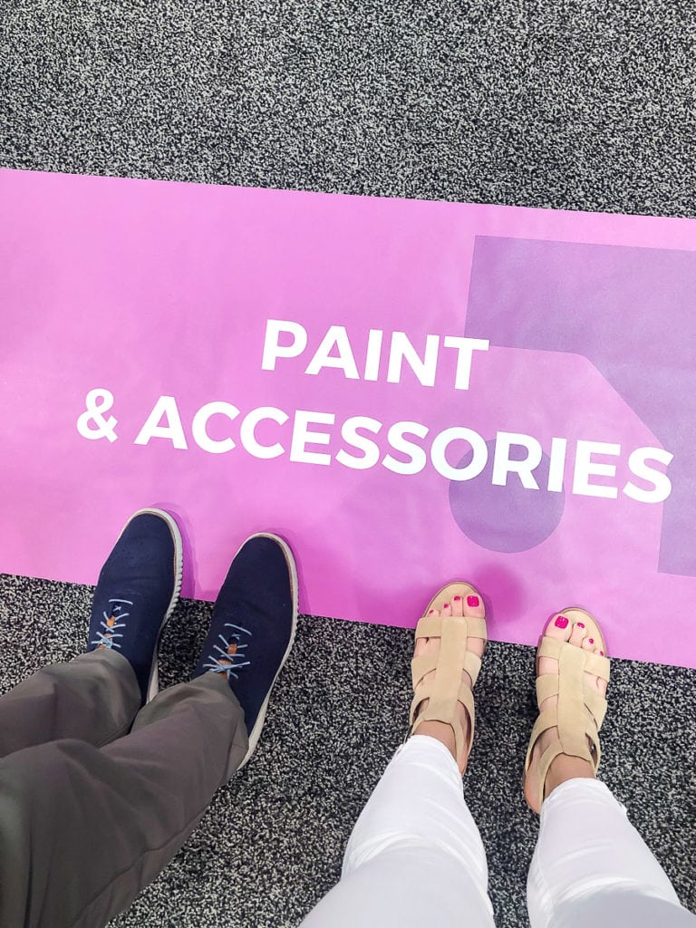 paint and accessories