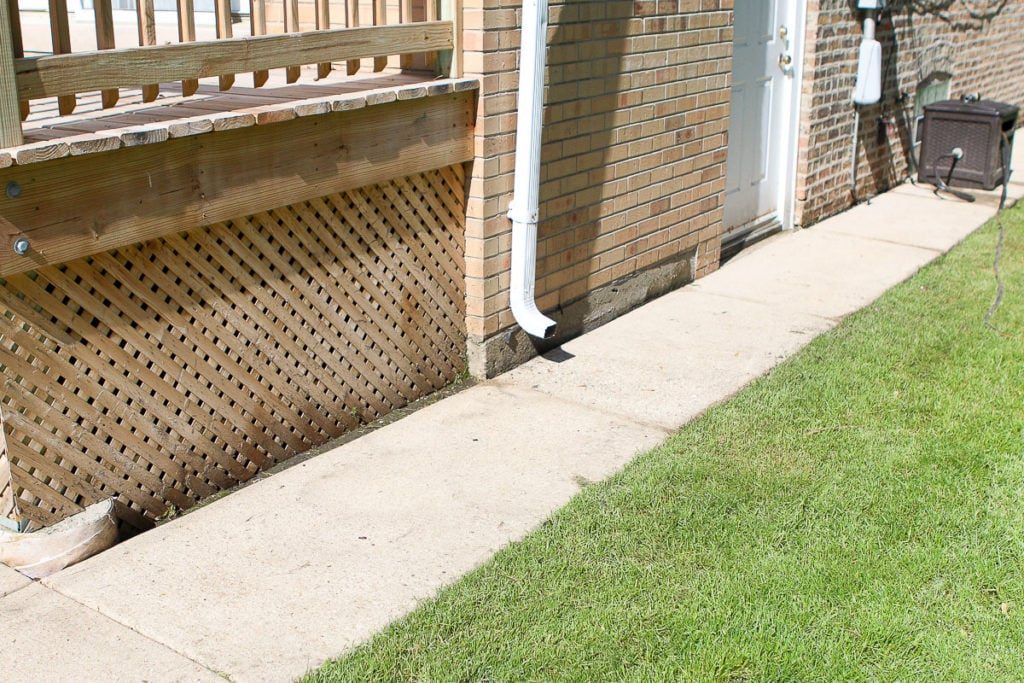How to power wash your sidewalk