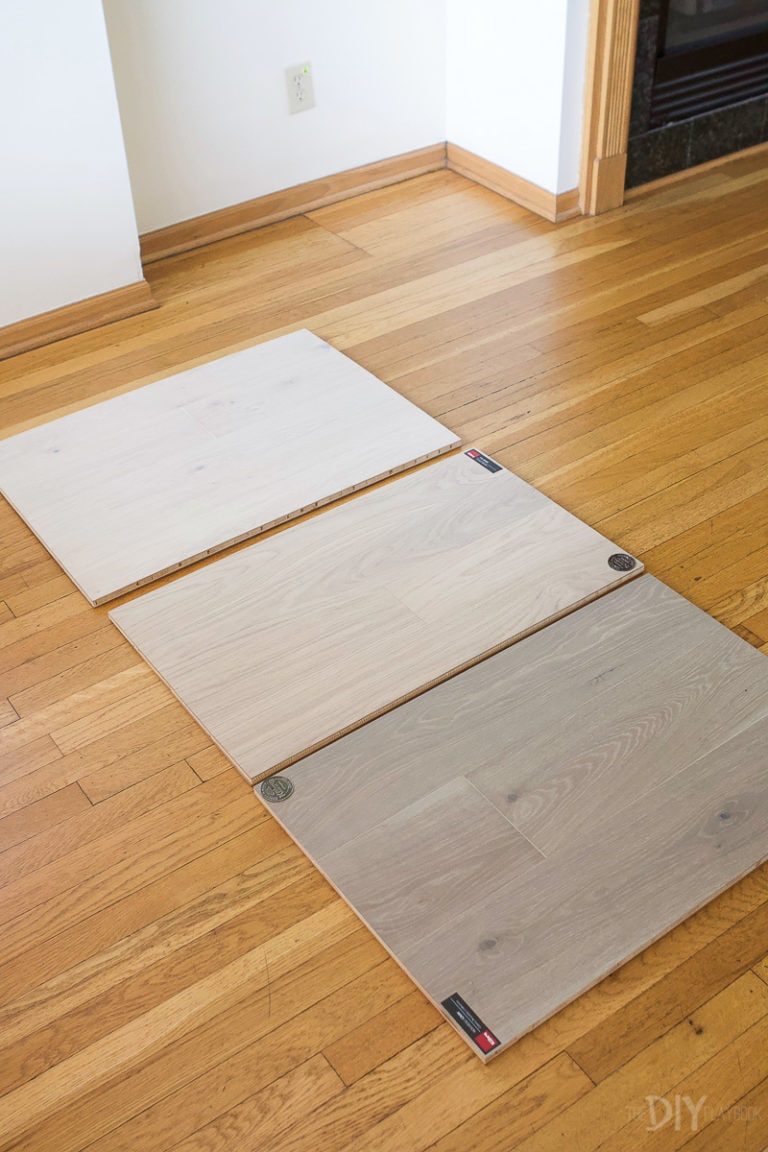 Choosing hardwood floors for our new home