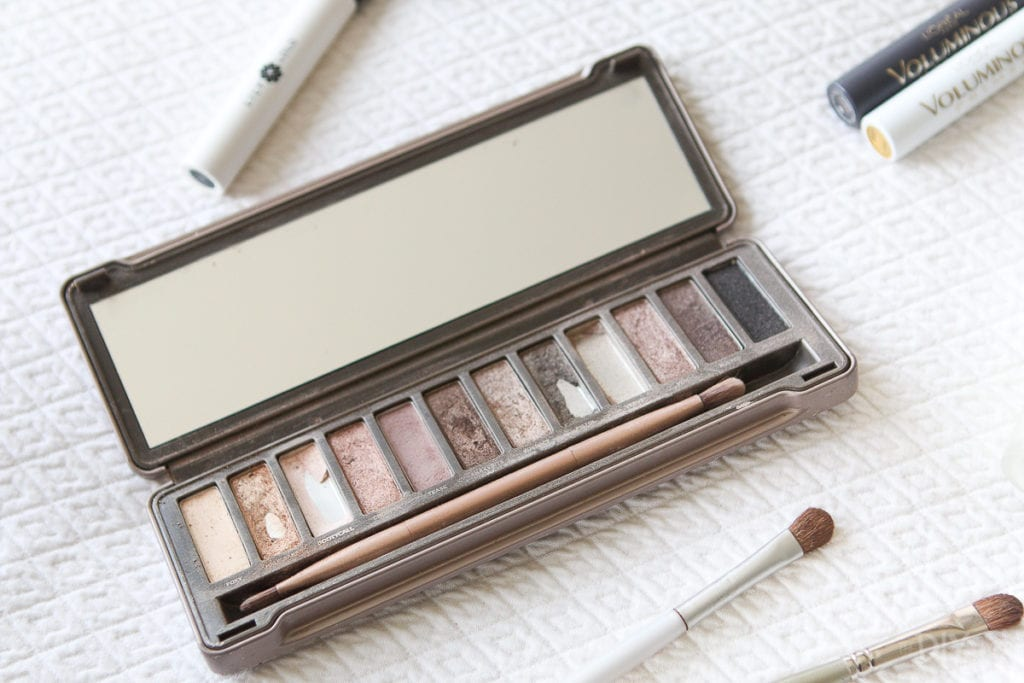 Naked 2 Palette eye makeup