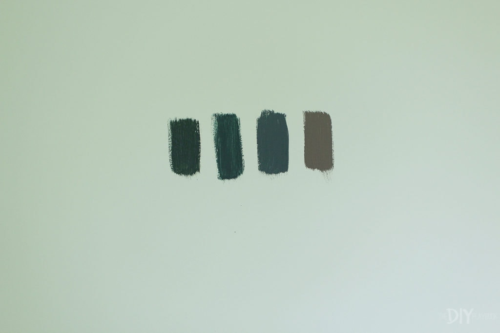 Dark green paint colors