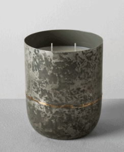 Hearth and hand candle