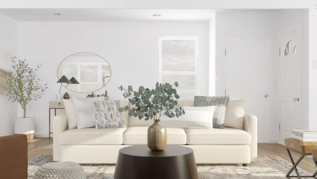 Using Modsy for Our Living Room Layout | The DIY Playbook