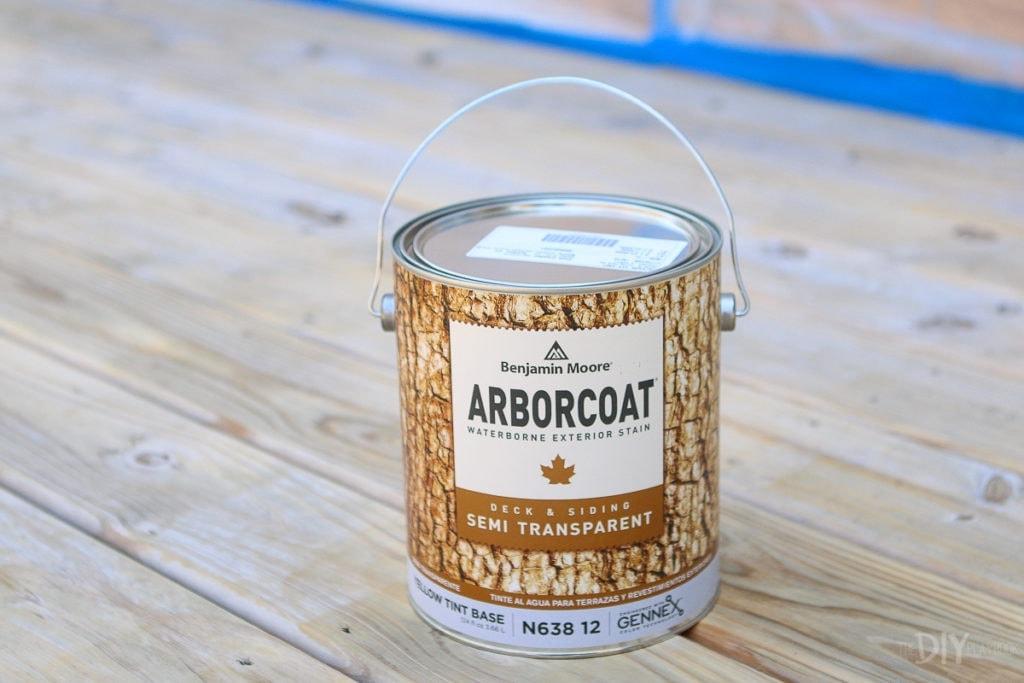 Arborcoat deck stain