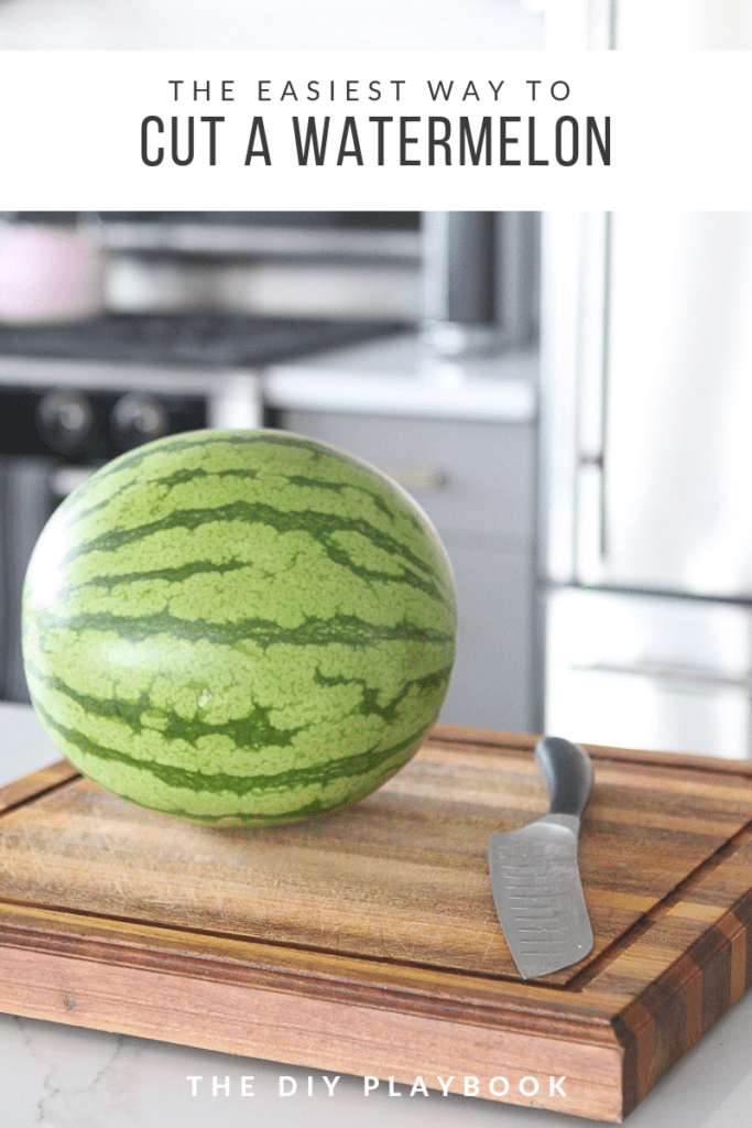 how to cut watermelon