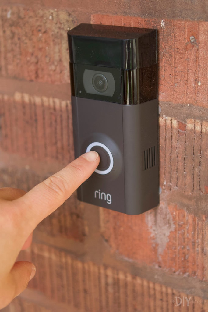 My new ring video doorbell