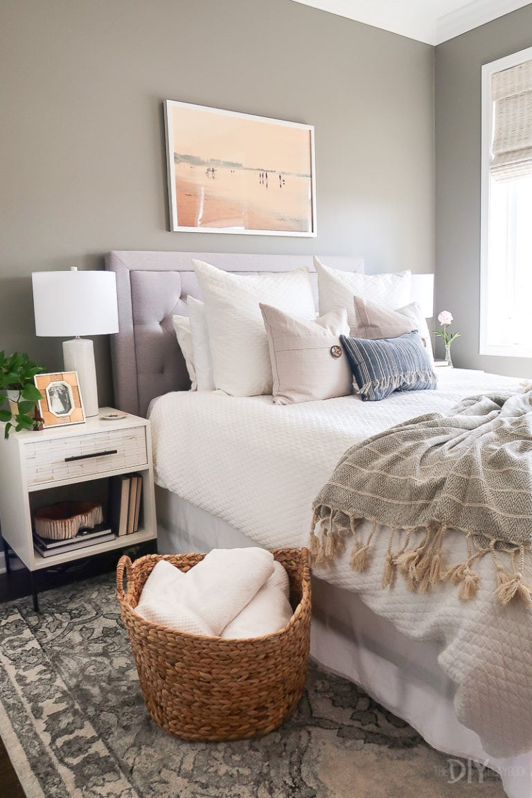 Jan's coastal bedroom refresh