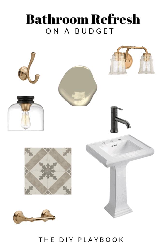 Bathroom refresh gameplan