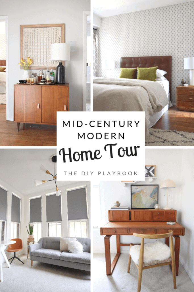 Mid-century modern home tour