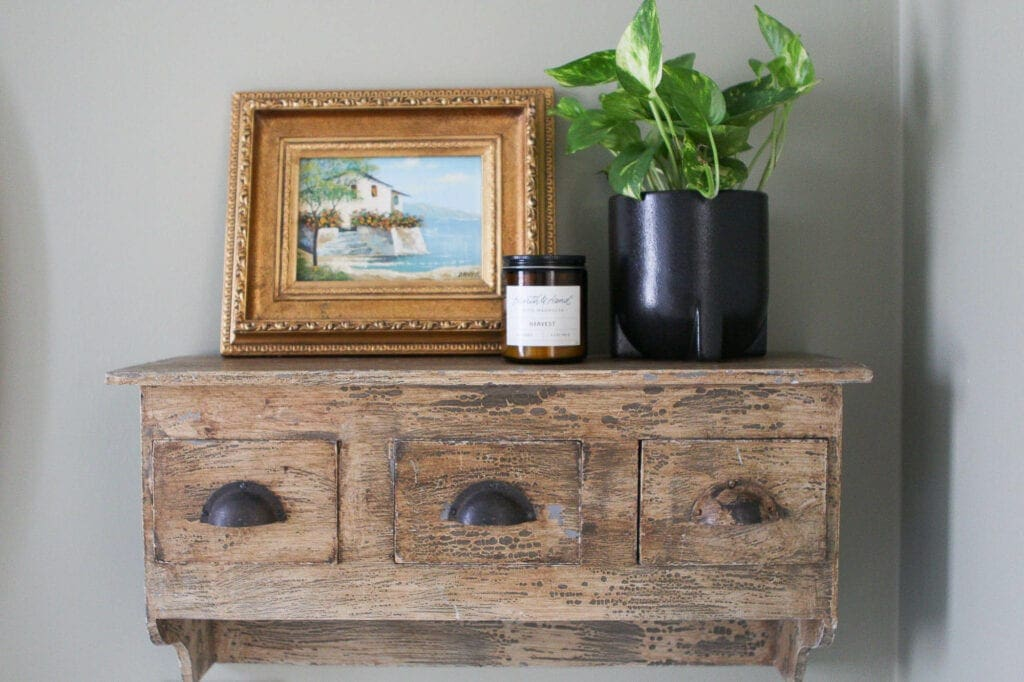 Antique shelf from The Painted Lady