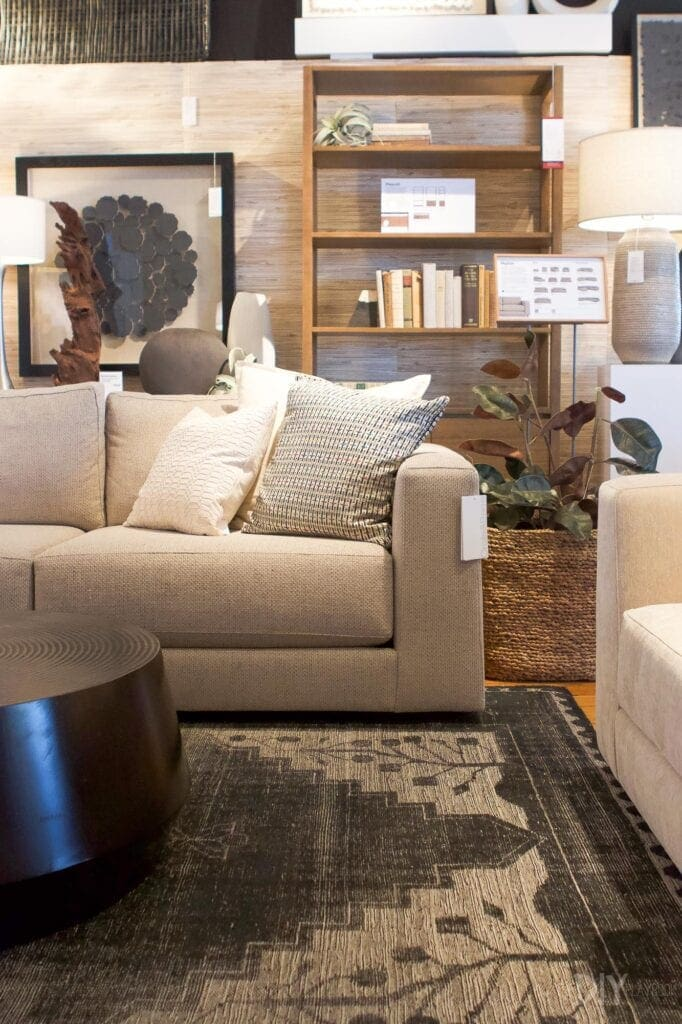 Peyton sofa from Crate & Barrel