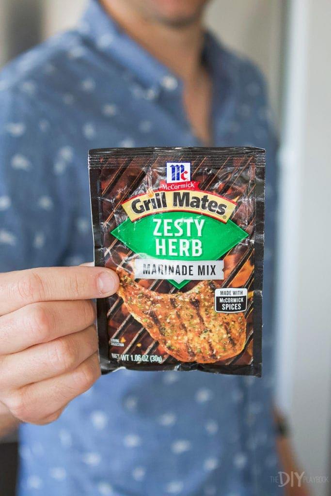Grill mates marinade