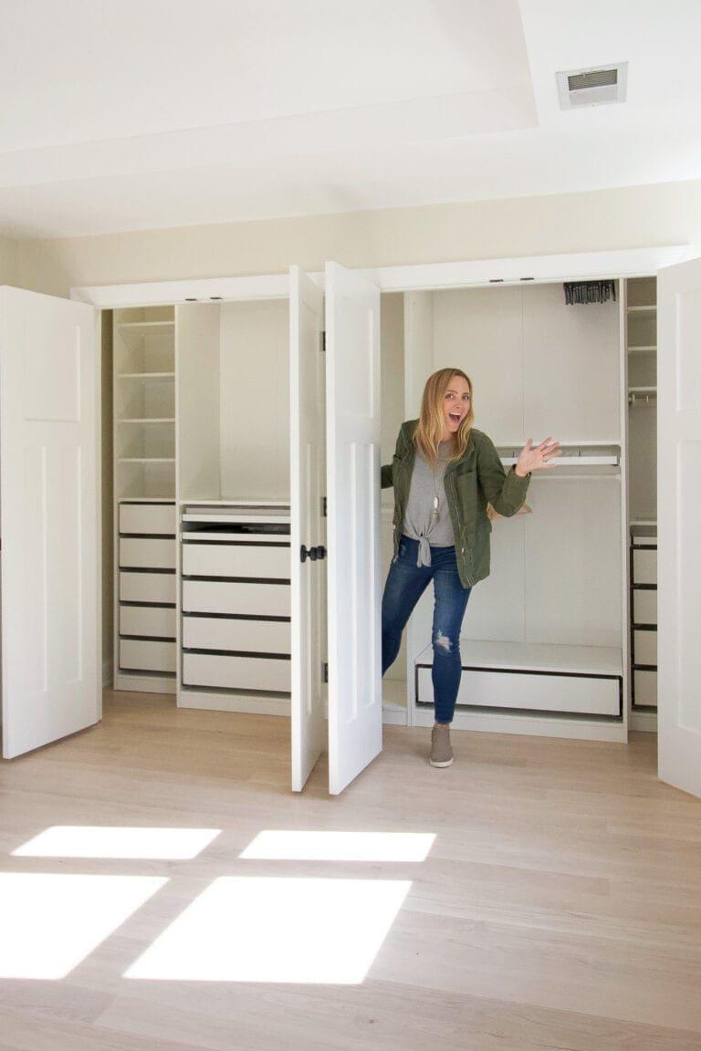 Our IKEA pax closet