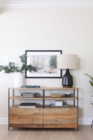 Custom art framing options