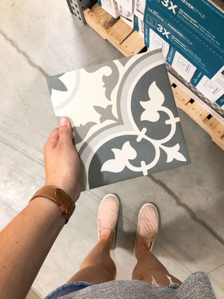 Mohawk floor tile
