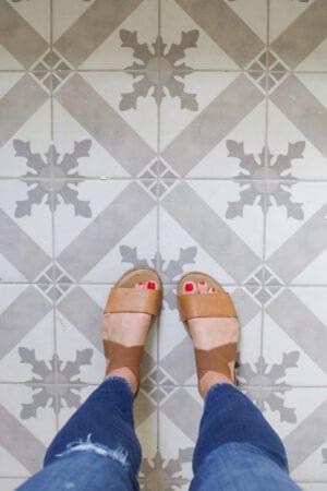 Our New Durable Bathroom Floor Tile